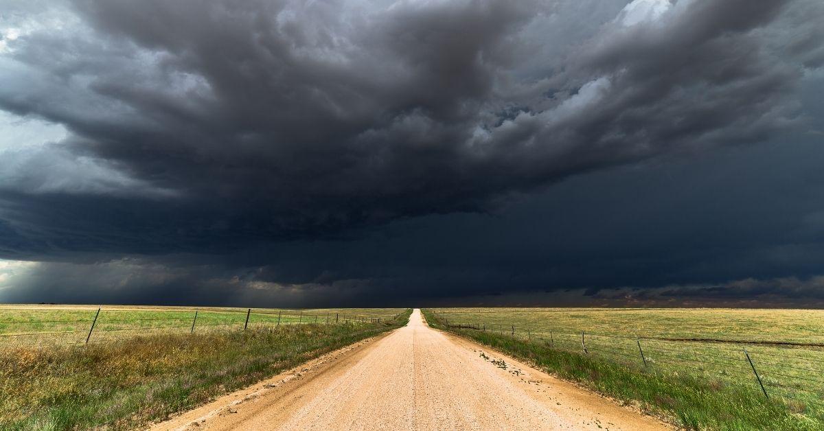 storm in texas
